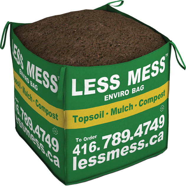 Less mess for Compost soil bags