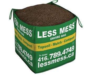 Less mess soil bags calculator for Soil calculator